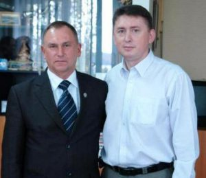 Анатолий Шевченко и Николай Мельниченко