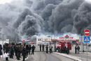 Сотрудни Новой линии заснял на видео начало пожара