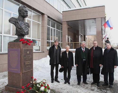 В Москве поставлен памятник Императору Александру II