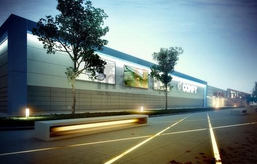 В Запорожье возле Ашана строят торговый центр