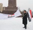 Египтянин устроил революцию на Украине